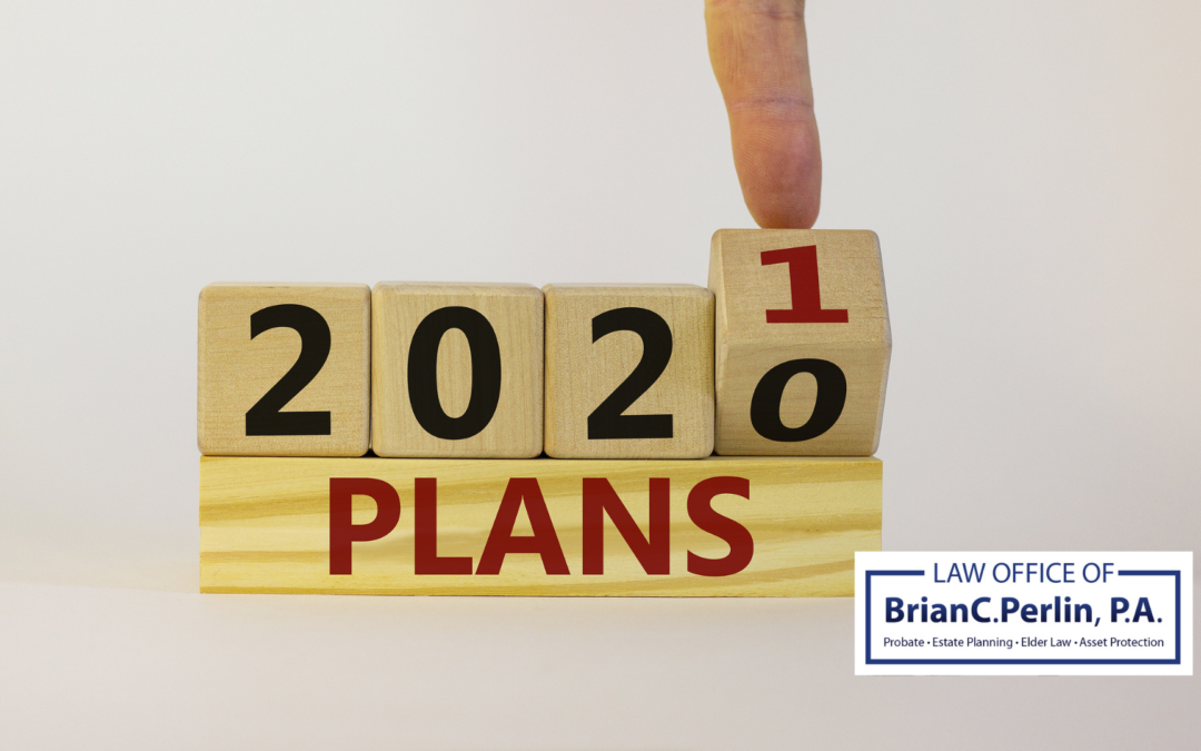 New Year New Plans:  3 Estate Planning Updates You Need To Know